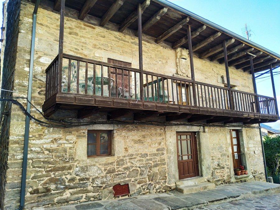 -Casa típica en Puebla de Sanabria, Zamora-