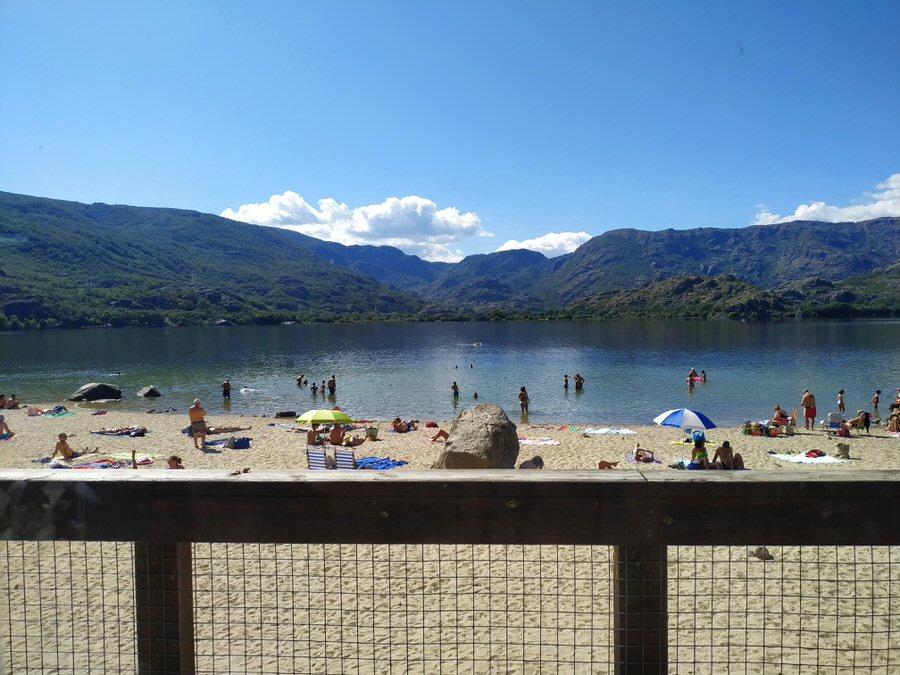 -Playa Viquiella,Lago de Sanabria-