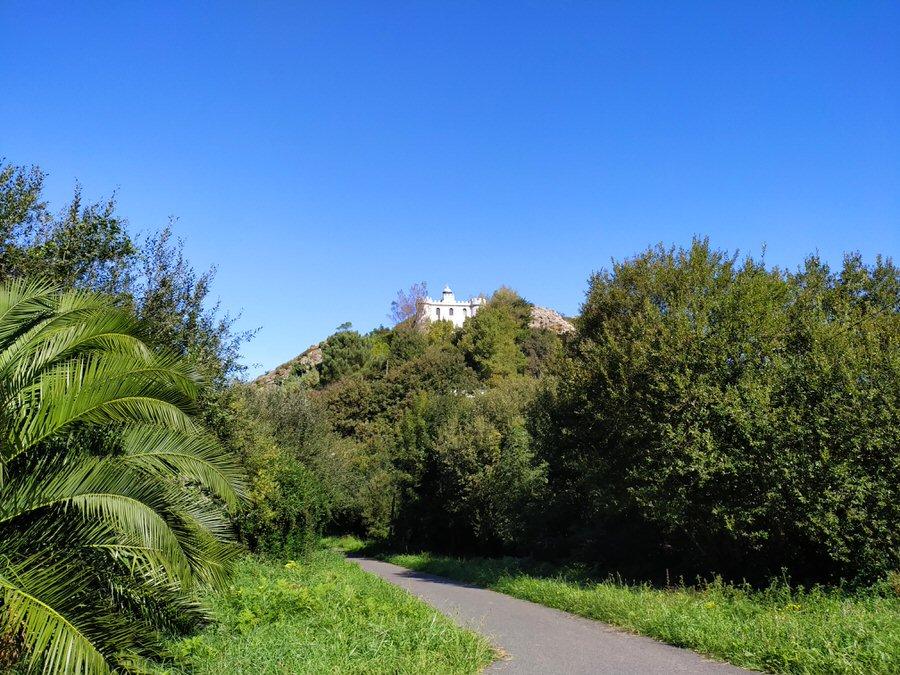 -Faro de la Plata, Monte Ulía-