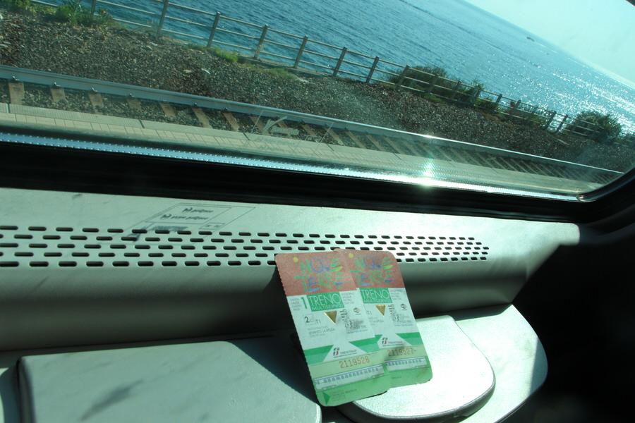 -Vuelta en tren, Cinque Terre-