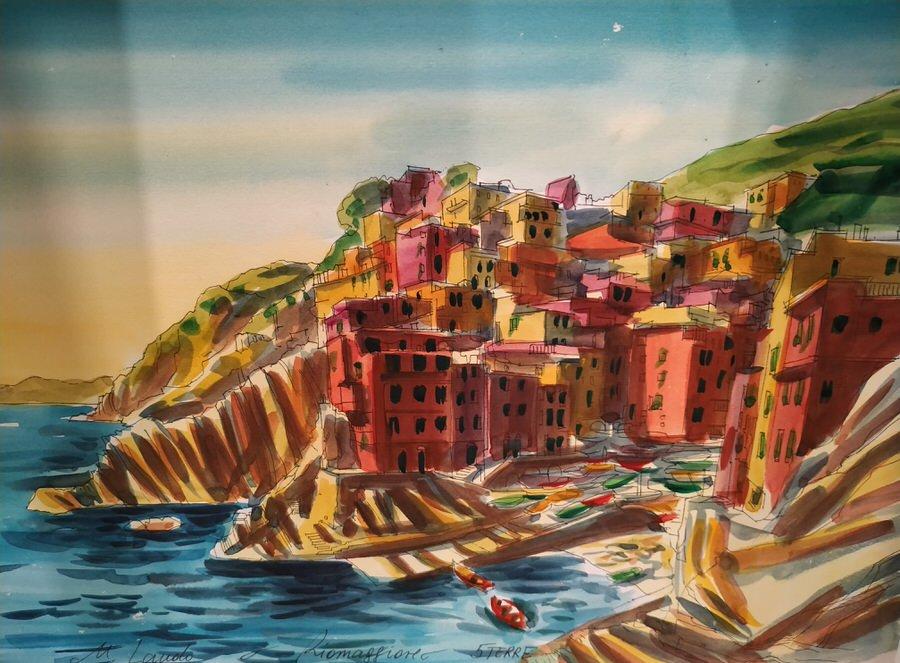 -Riomaggiore en casa, Cinque Terre-