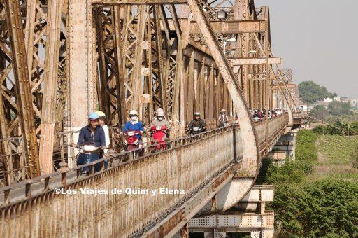 Puente Long Bien, fin de viaje