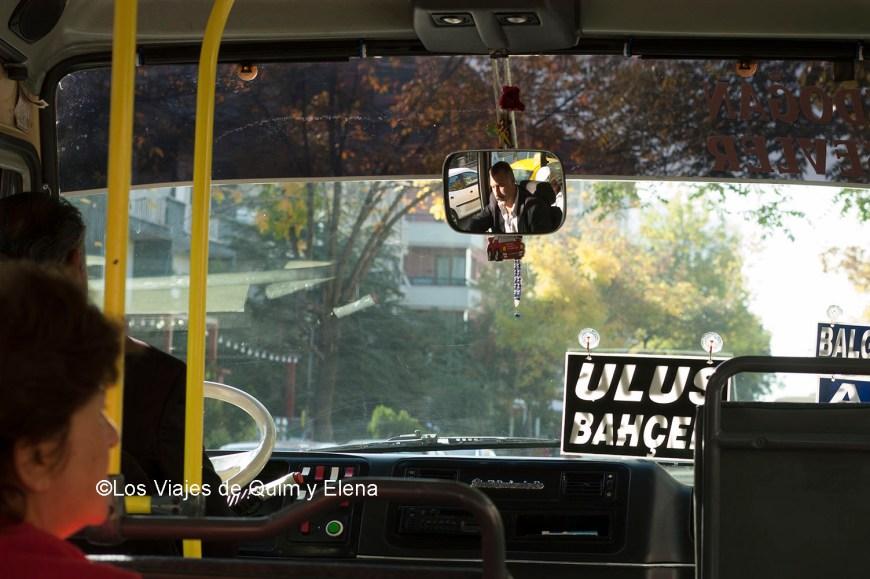En el bus de Ankara