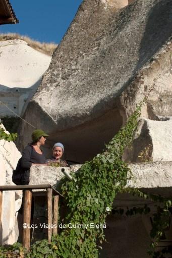 Elena y Nuri en Göreme