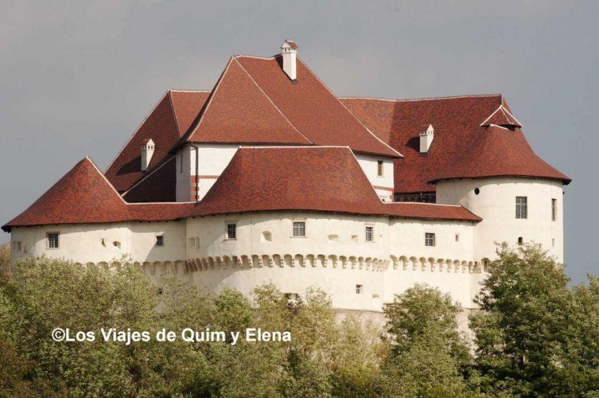 Veliki Tabor, ruta de los castillos