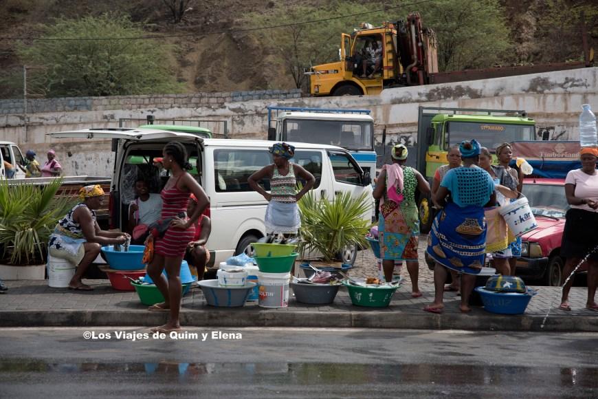La zona del mercado del pescado