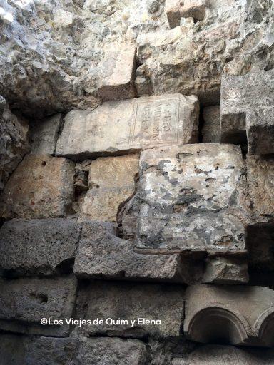 Parte de la antigua muralla