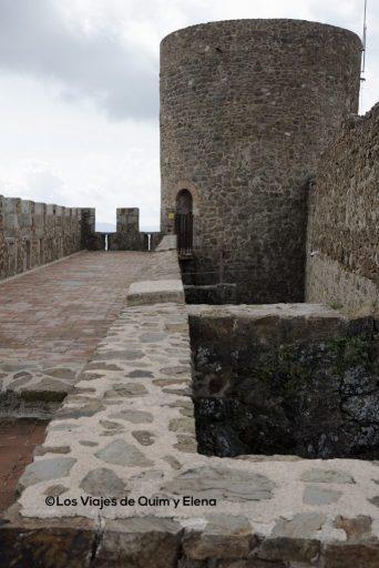 Azotea norte y acceso a la torre del homenaje