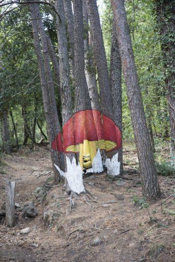 Ou de Reig en el Bosque pintado de Poblet