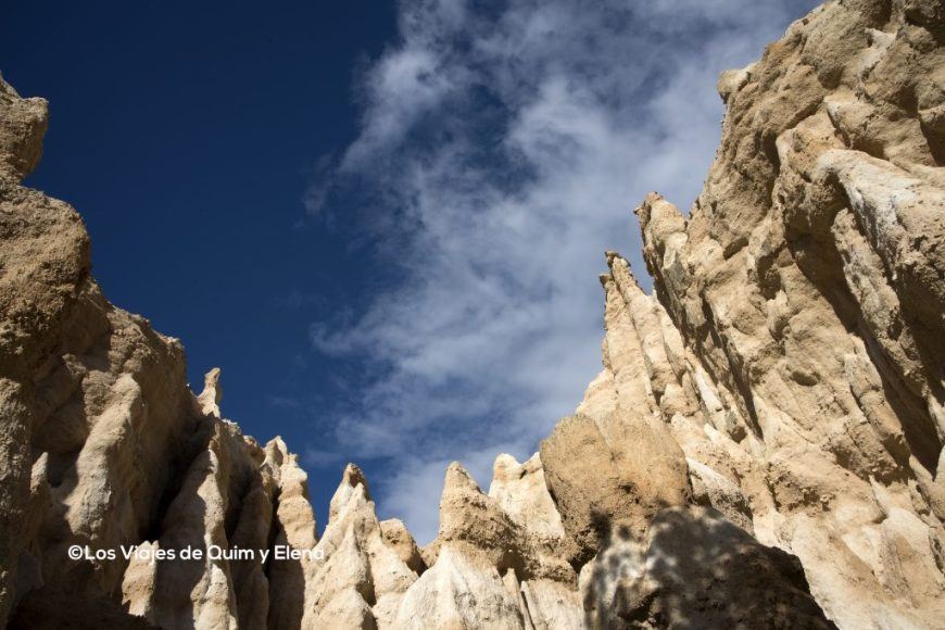 La formas recuerdan a La Capadocia. 7 días por Francia.