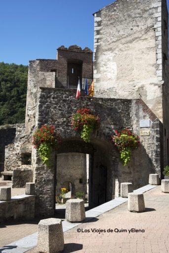 Puerta de España en Prats de Molló