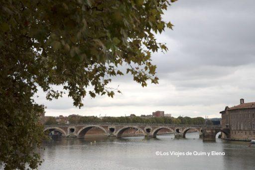 El Pont Neuf sobre el Río Garona