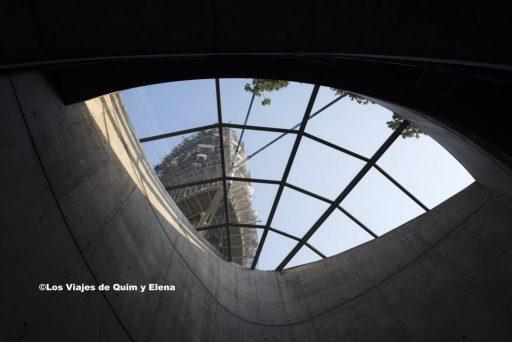 La Torre de Collserola desde la sala de espera