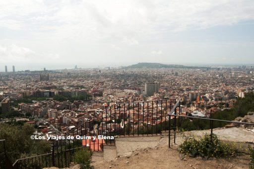 Vistas desde el Mirador de Barcelona
