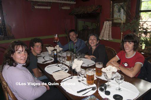 En el Restaurante Austral