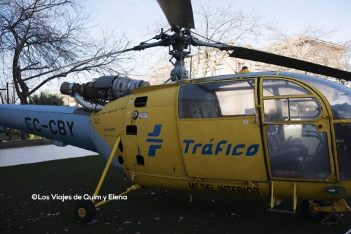 Helicoptero de la DGT