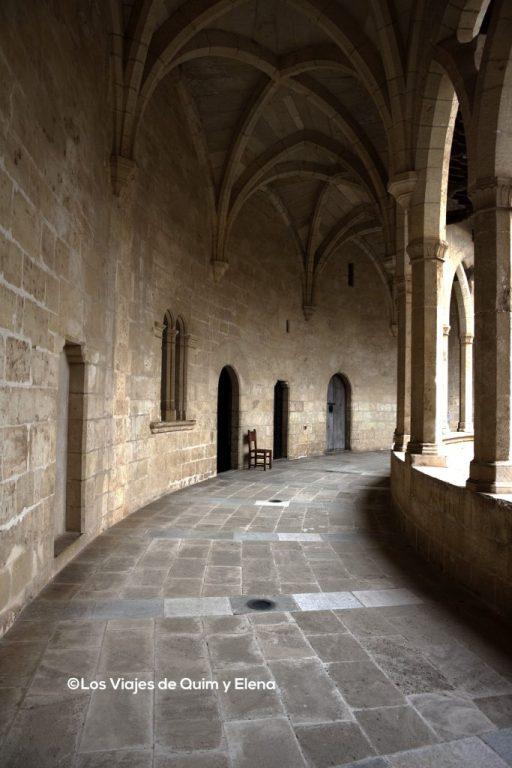 Segunda planta del Castillo de Bellver