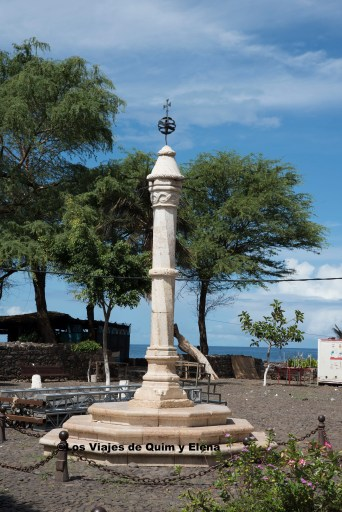 Aquí castigaban a los esclavos que no obedecían en Cidade Velha