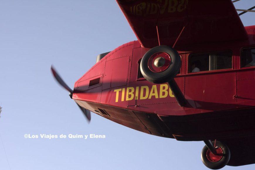 El avión del Tibidabo
