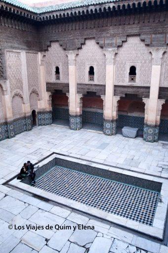 Patio interior de la Madraza