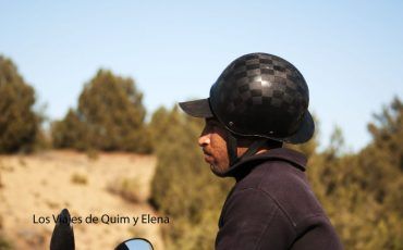 Motorista hacia Essaouira