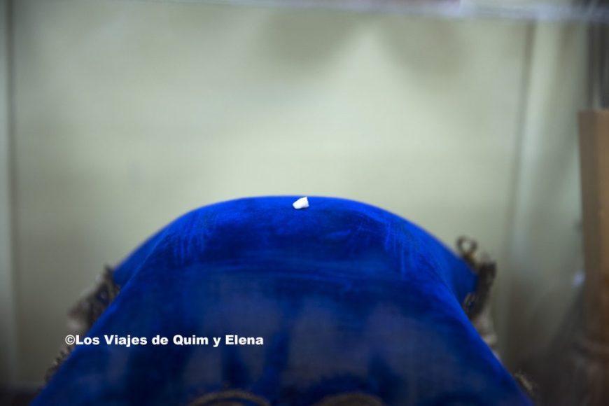 Diente de Buby en Museo Ratón Pérez
