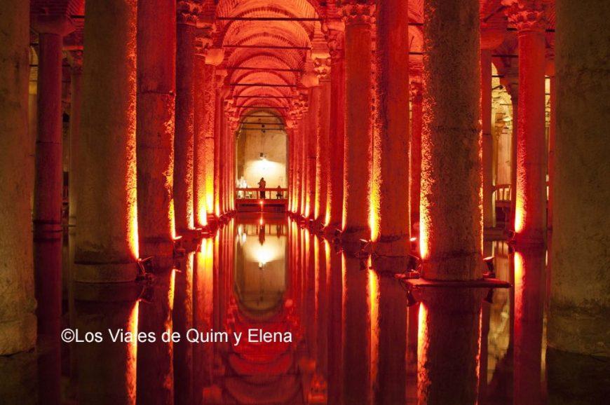 La Cisterna de la Basílica