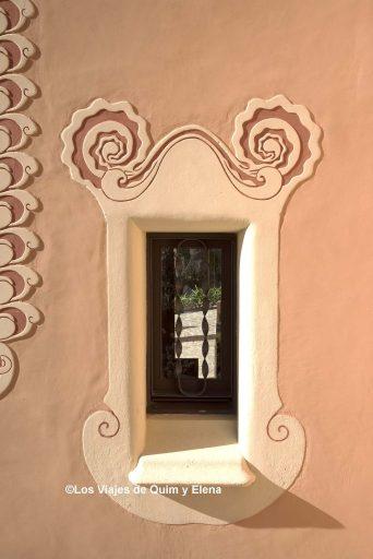 Ventana de la Casa Museo Gaudí
