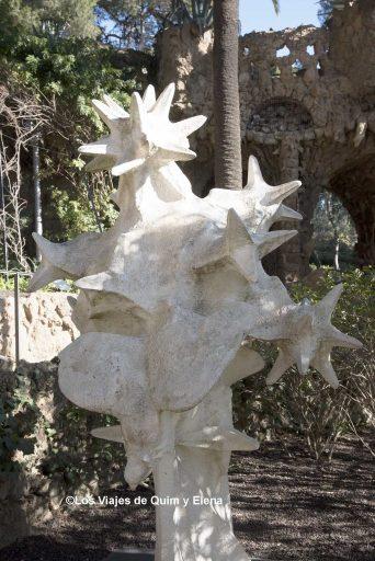 Elemento de la fachada de la Sagrada Familia