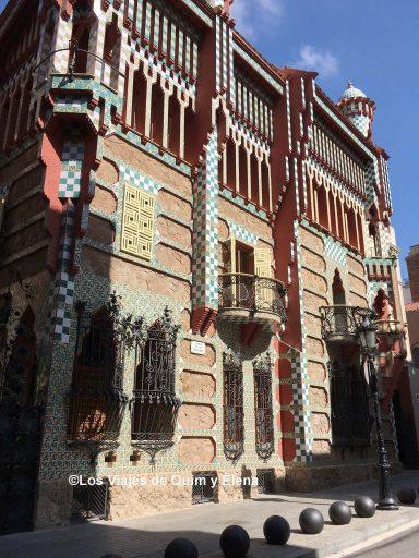 Fachada de la Casa Vicens