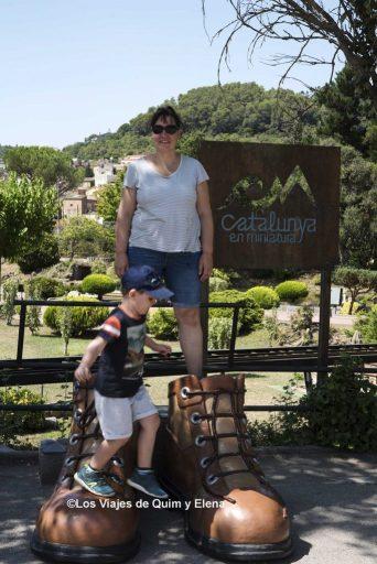 Elena y Éric en Catalunya en Miniatura