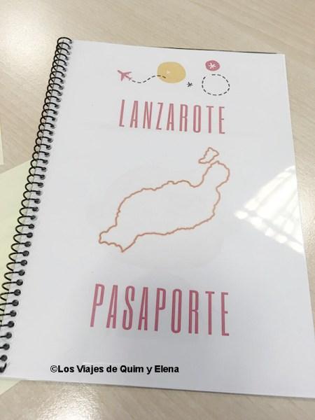 Pasaporte lúdico, Lanzarote con niños