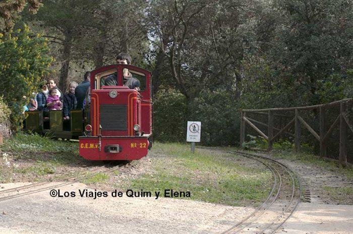 El tren de L'Oreneta
