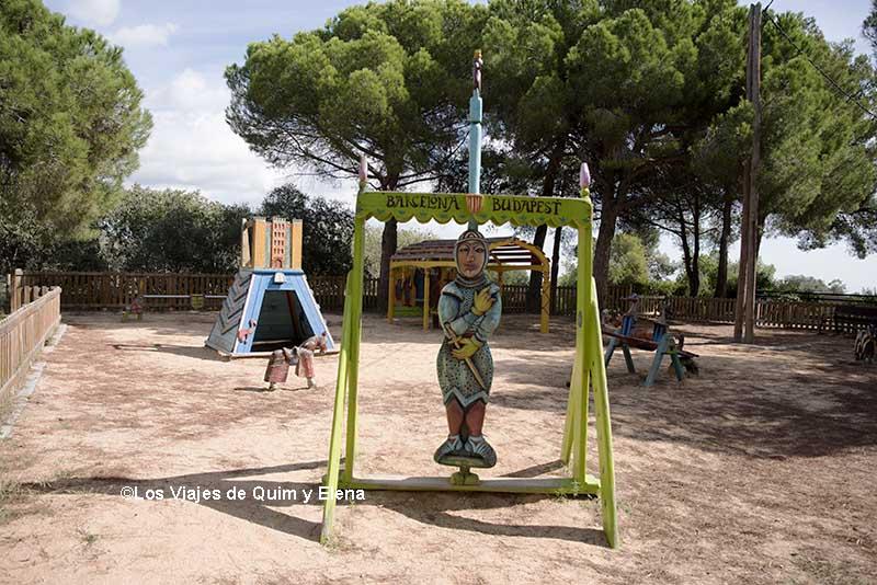 Una zona infantil muy original