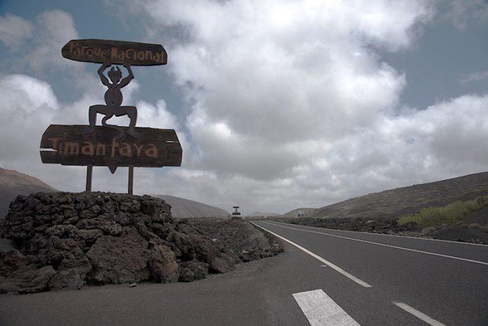 Entrada a Timanfaya