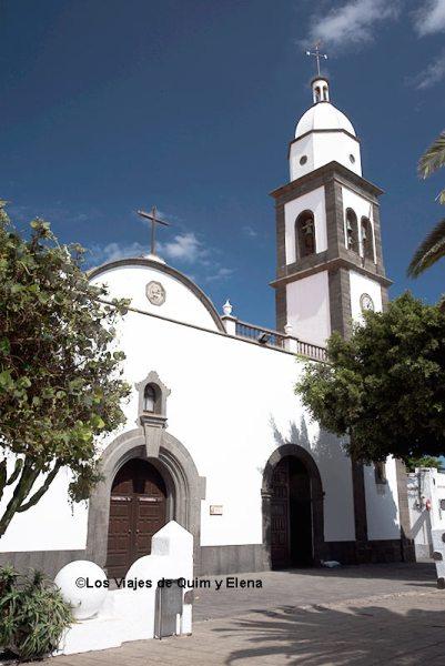 Iglesia de San Ginés en Arrecife