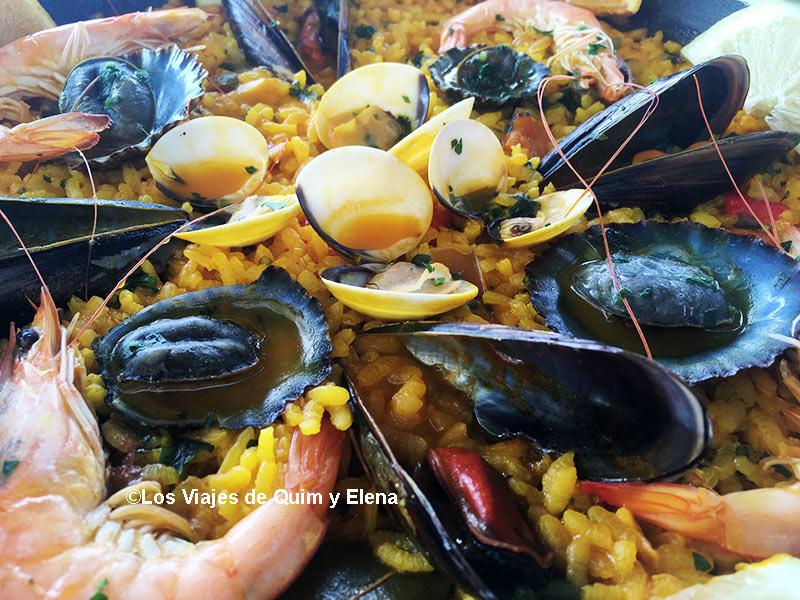 Paella en Caleta de Famara