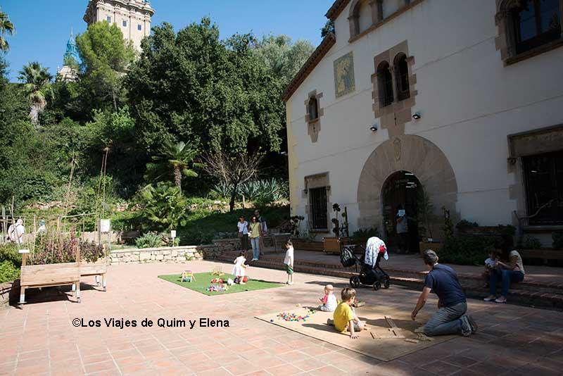 Divirtiéndonos en la Jugateca del Jardín Botánico Histórico