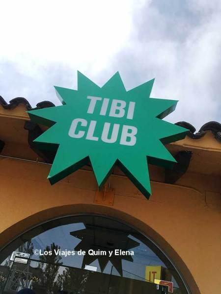 El Tibiclub del Parque de Atracciones Tibidabo