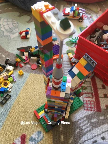El Lego uno de los favoritos, confinamiento en Familia
