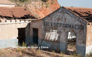 Taller abandonado en Río Tinto