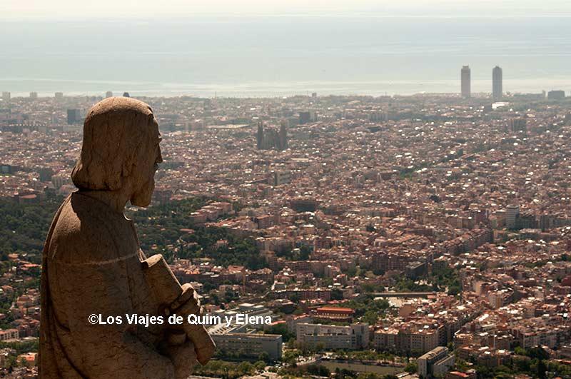 Basilica del Tibidabo, miradores de Barcelona