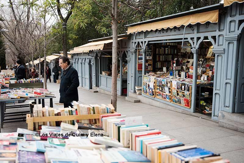 Cuesta de Moyano rapa comprar libros