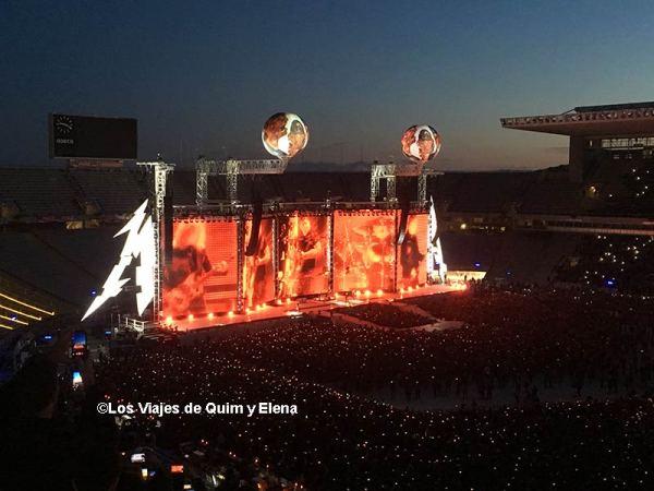 Concierto de Metallica en el Estadi Olimpic