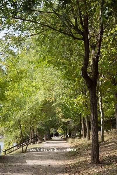 El entorno invita a pasear