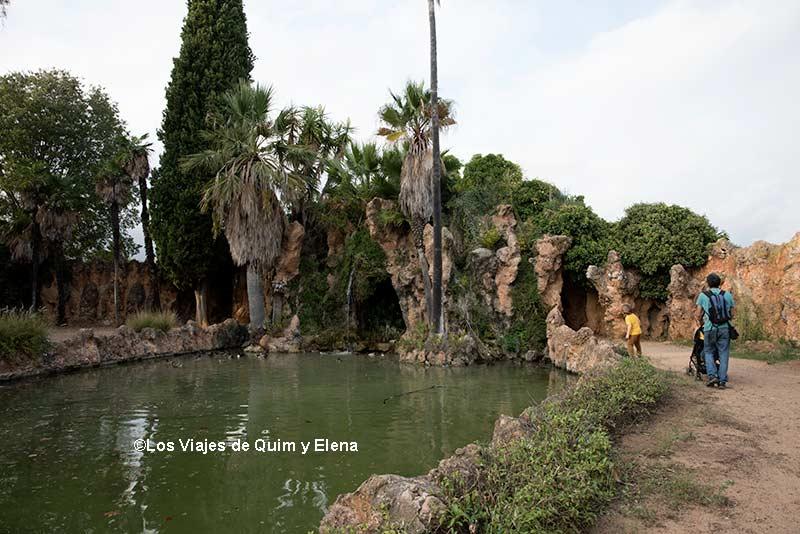 Paseando por el Parque Sama