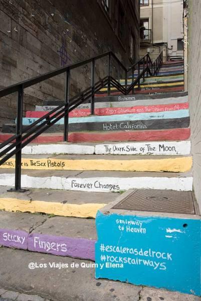 Escaleras del rock en Gijón