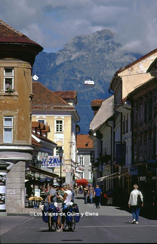Calle Prešernova de Kranj
