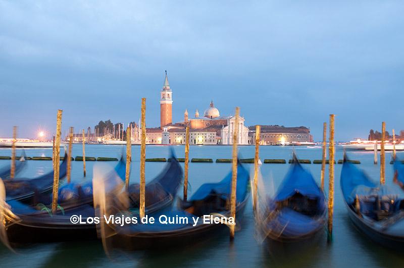La hora azul en Venecia