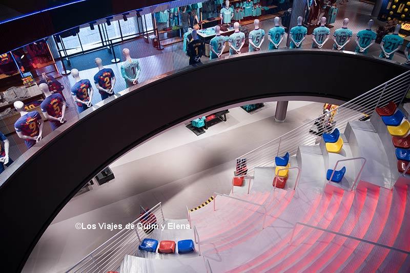 Tienda del Museo de FC Barcelona